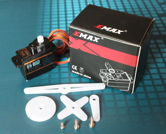 EMAX ES08D II (8g) Digital Nylon Gear Servo