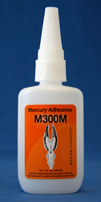 Mercury Adhesives M300M Medium CA (2 oz.)