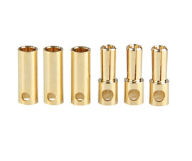 5.0mm Gold Bullet Connectors (3 pairs)