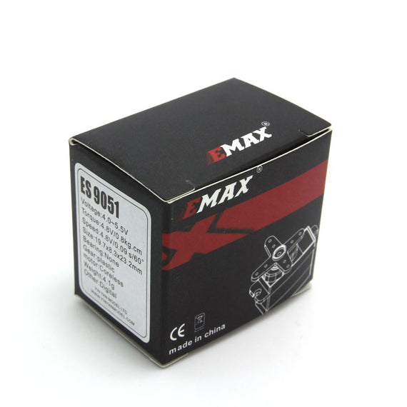 EMAX ES9051 (4.3g) Digital Nylon Gear Servo - Altitude Hobbies