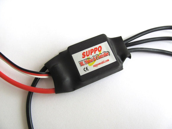 Suppo HW20A Brushless ESC w/ HobbyWing Firmware