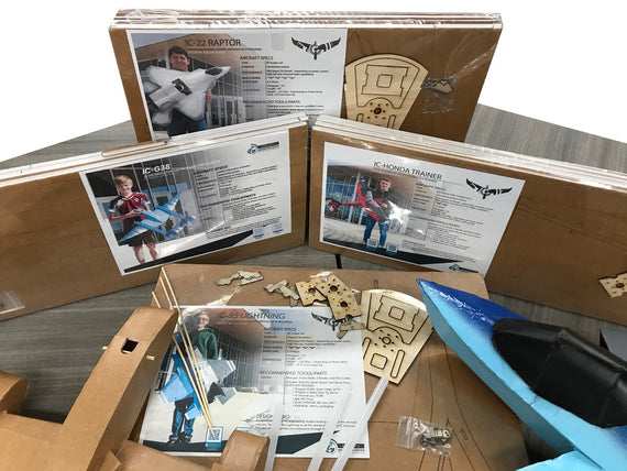 IC Aeronautics Trainer Airplane Build Kit
