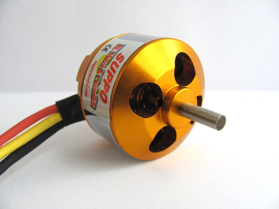 Suppo 2208/8 2600kv Brushless Motor (Park 370 equiv.)