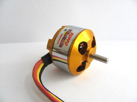 Suppo 2208/8 2600kv Brushless Motor (Park 370 equiv.) - Altitude Hobbies