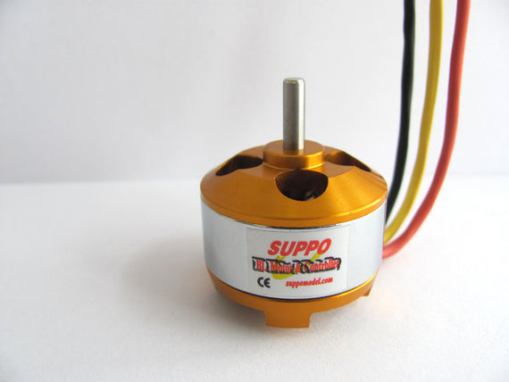 Suppo 2208/12 1800kv Brushless Motor (Park 370 equiv.) - Altitude Hobbies