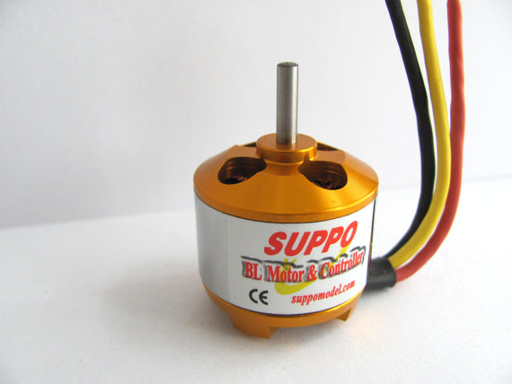 Suppo 2212/13 1000kv Brushless Motor (Park 400 equiv.)