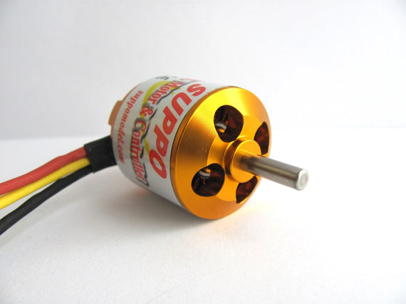 Suppo 2217/7 1250kv Brushless Motor (Park 425 equiv.)