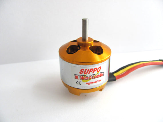 Suppo 2810/11 1100kv Brushless Motor (Park 450 equiv.) - Altitude Hobbies