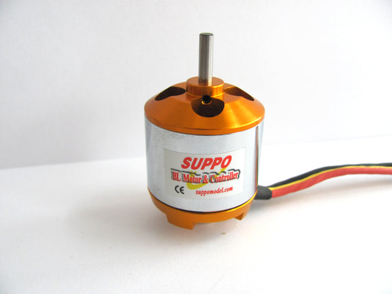 Suppo 2820/6 1000kv Brushless Motor (Power 15 equiv.) - Altitude Hobbies