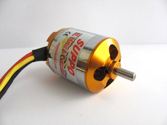 Suppo 2826/4 1000kv Brushless Motor (Power 25 equiv.) - Altitude Hobbies