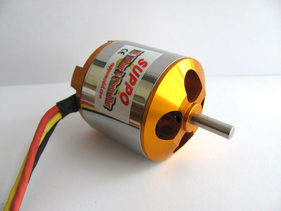 Suppo 4130/6 430kv Brushless Motor (Power 60 equiv.) - Altitude Hobbies