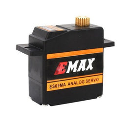 EMAX ES09MA (Dual-Bearing) Swash Servo for 450 Heli (Analog Metal Gear)