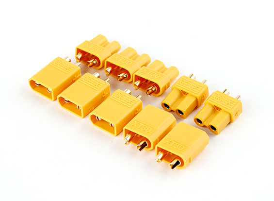 XT30 Nylon Connector GENUINE (5 Pairs)