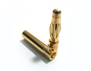 4.0mm Gold Bullet Connectors (3 pairs)