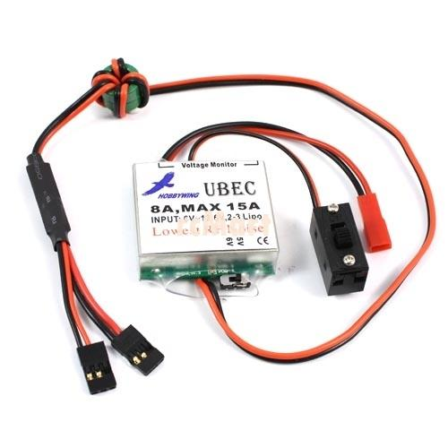 HobbyWing External UBEC-8A (Large Current BEC) - Altitude Hobbies