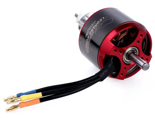 Leopard 6354-8T 320kv Brushless Airplane Motor - Altitude Hobbies