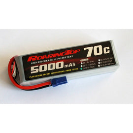 Roaring Top 5000mAh 4s (14.8v) 70C Lipo Battery - Altitude Hobbies