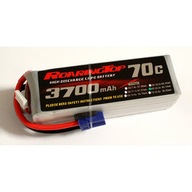 Roaring Top 3700mAh 6s (22.2v) 70C Lipo Battery - Altitude Hobbies