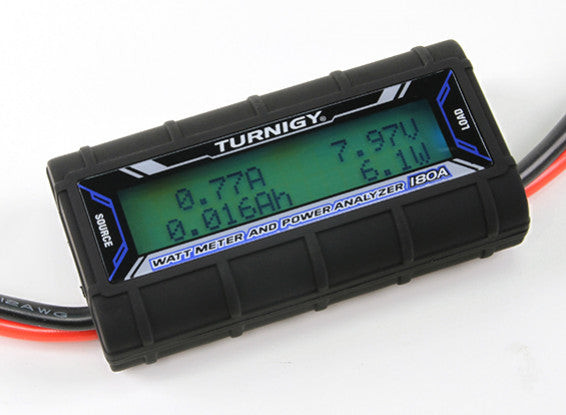 Turnigy 180A Watt Meter and Power Analyzer - Altitude Hobbies