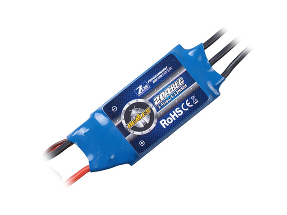ZTW Beatles Series 20A Brushless ESC w/ 2A BEC - Altitude Hobbies