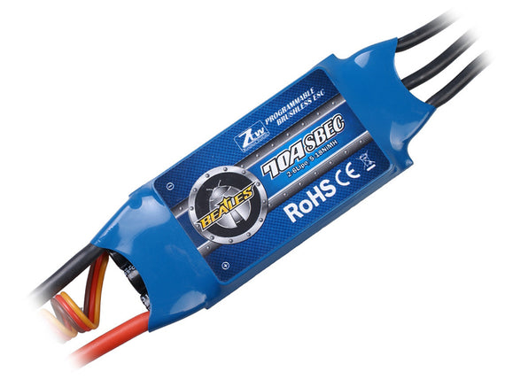ZTW Beatles Series 70A Brushless ESC w/ 5A SBEC