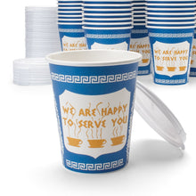 Load image into Gallery viewer, NY Coffee Cup (50 paper cups with lids)