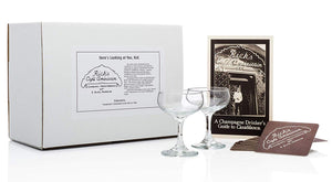 """Casablanca"" Champagne Coupe Set"