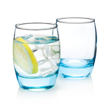 Load image into Gallery viewer, Blue Cocktail Glass