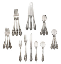 "Load image into Gallery viewer, Classic ""English Kings Collection"" Flatware for the Home (20-Piece Set)"