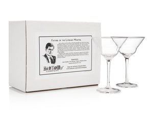 Jack London Martini Glasas