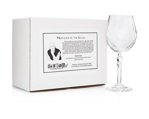 Meditation Wine Glass