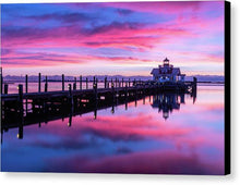 Load image into Gallery viewer, Roanoke Marshes Lighthouse - Canvas Print