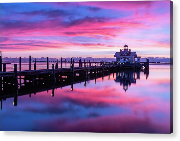 Roanoke Marshes Lighthouse - Acrylic Print