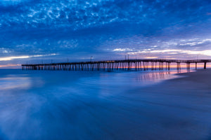 Nags Head Pier - Metal Print