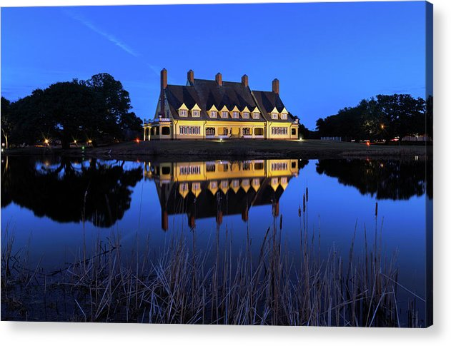 Blue Hour at the Whalehead - Acrylic Print