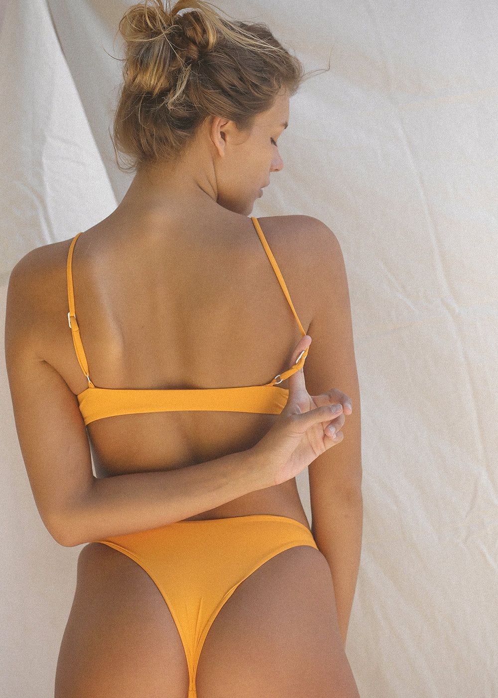TOAST SWIM Knot Top |Radiant Yellow|