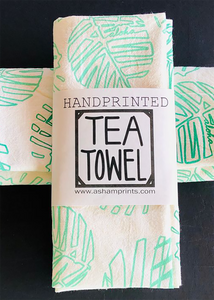 Hawaiian Tea Towels |Palm Pom|
