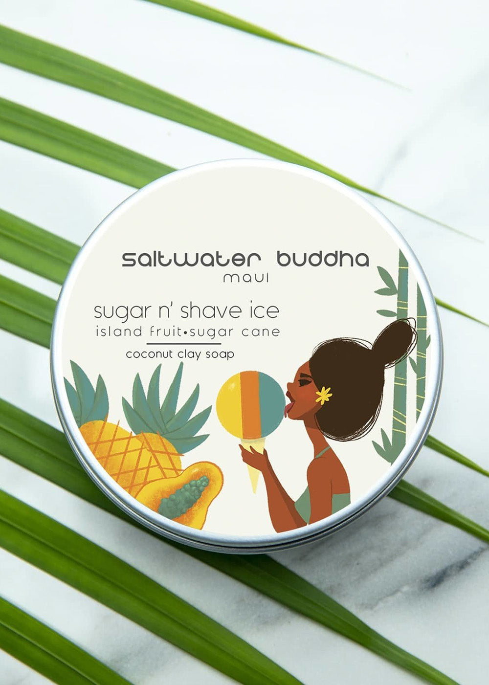 Saltwater Buddha Maui Soap |Sugar and Shave Ice|