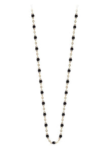 gigiCLOZEAU Jewlery - classic gigi necklace black |18k gold|