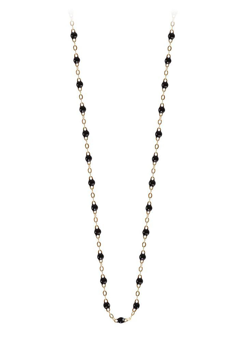gigiCLOZEAU Jewlery - 18 inch -classic gigi necklace black |18k gold|