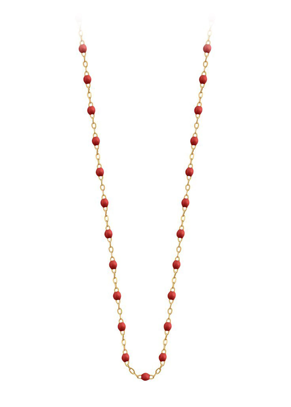gigiCLOZEAU Jewlery - classic gigi necklace poppy |18k gold
