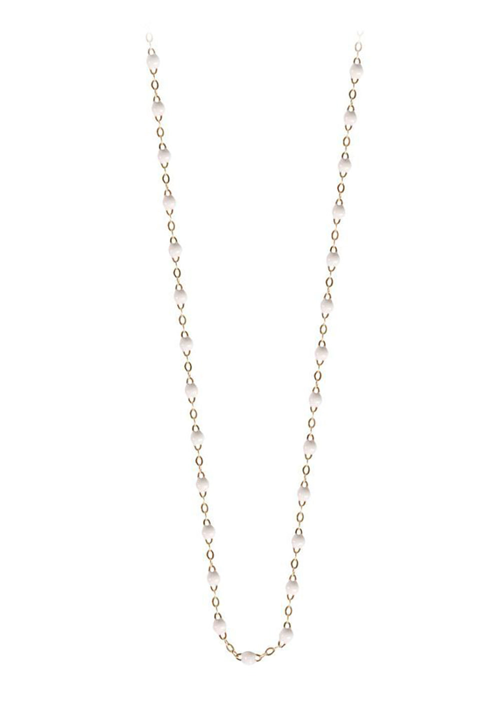 gigiCLOZEAU Jewlery - classic gigi necklace White |18k gold