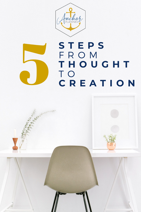 5 Steps from Thought to Creation