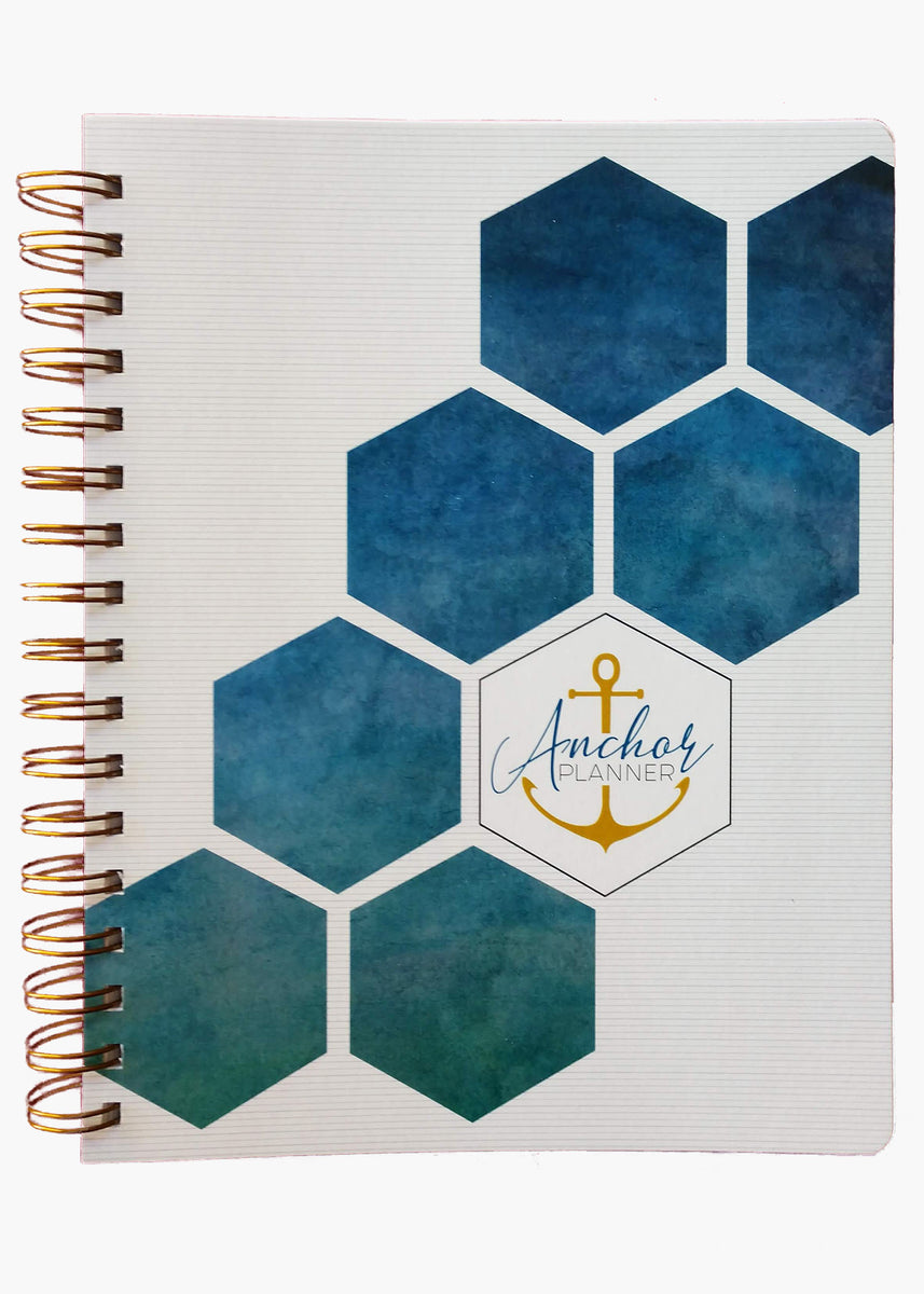anchor planner, goal setting, gratitude, visualization, morning routine