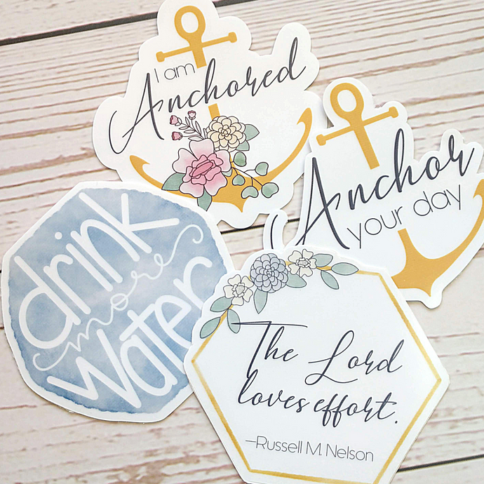 Anchor Your Day Sticker Bundle
