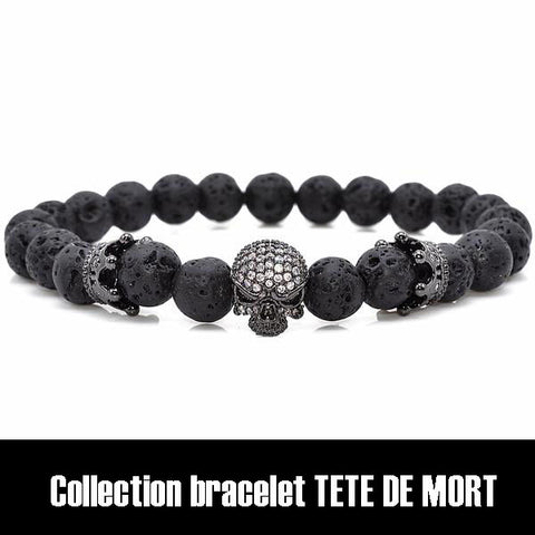 collection bracelet tete de mort