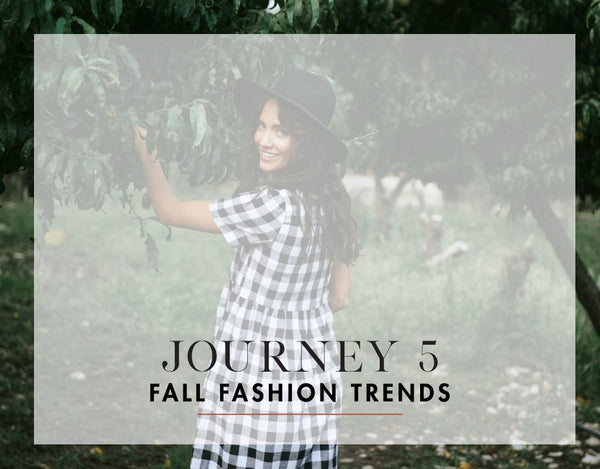 2018 Fall Fashion Trends