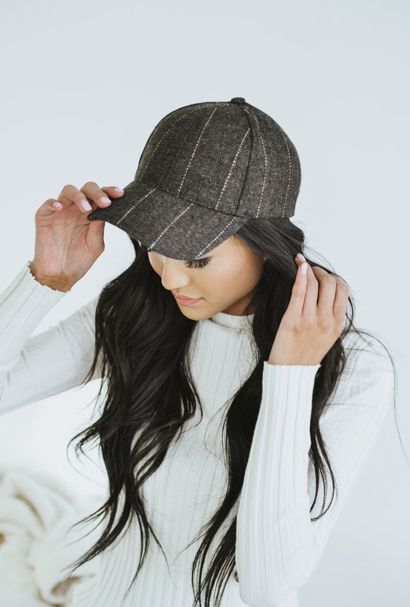 Byron Plaid Cap