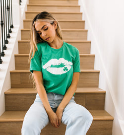 Clover Lip Graphic Tee