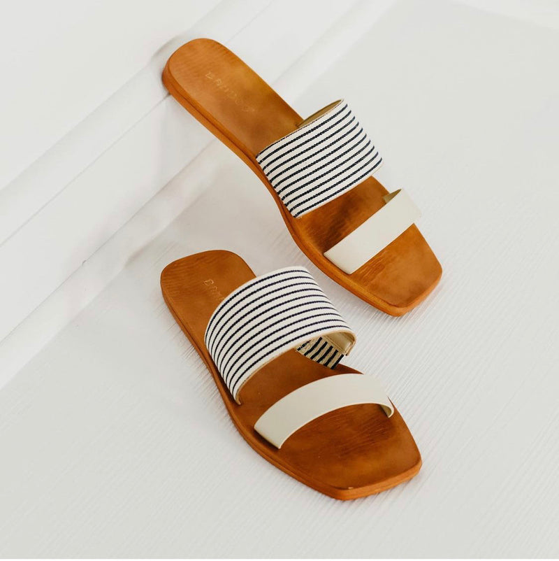 Earthdance Stripe Sandals